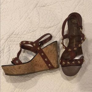 Juicy Couture Size 6 Wedges